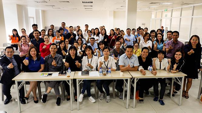 doanh nghiệp tham gia hội thảo vmp